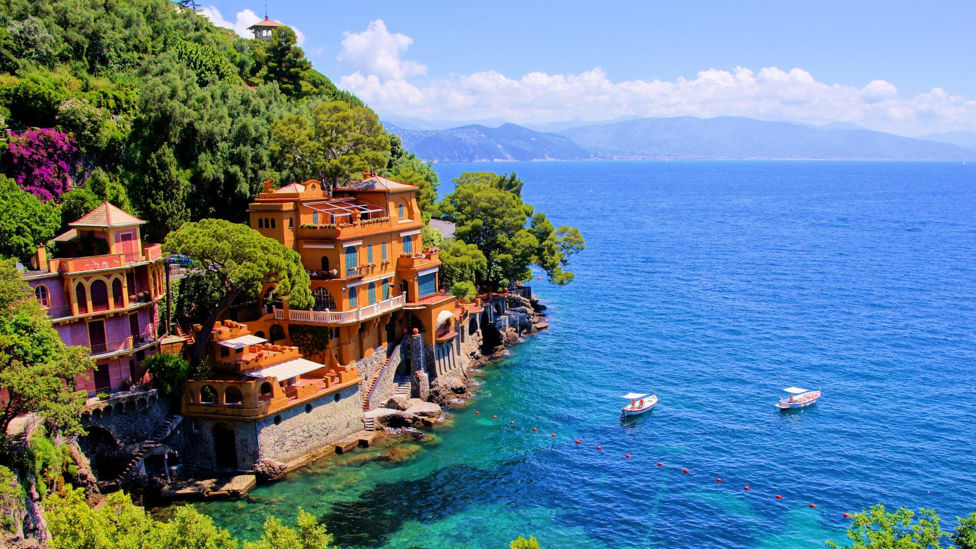luxury-travel portofino panorama