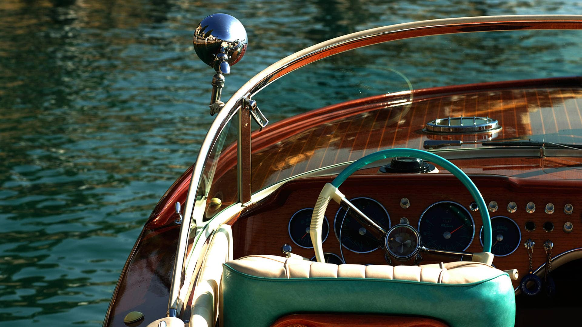 luxury travel vintage boat